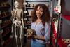 Lauren Schroeder Anthropology Post Doc in Filmore Hall Lab <br /> <br /> Photographer: Douglas Levere