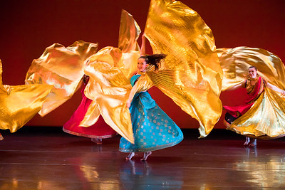 Theater and Dance performance of the Zodiaque Dance Group in the CFA Drama Theater.  Photographer: Douglas Levere