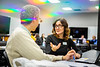 The Center for Education Innovation hosts an emergency course building session in O'Brien Hall in March 2020.<br /> <br /> Photographer: Douglas Levere