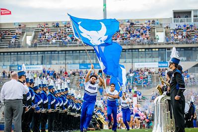 UB Homecoming 2017 football game vs. the Broncos of Western Michigan at UB Stadium.    Photographer: Douglas Levere