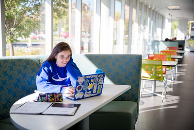 Students in Greiner Hall.   Photographer: Meredith Forrest Kulwicki