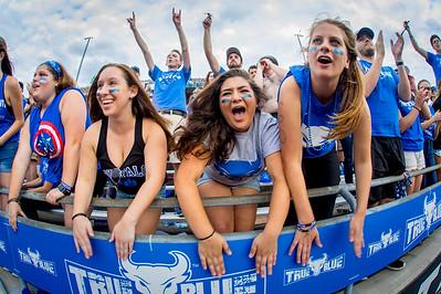 UB Homecoming 2017 football game vs. the Broncos of Western Michigan at UB Stadium.    Photographer: Douglas Levere