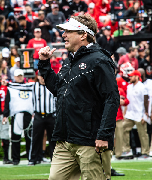 Scenes from the University of Georgia 'G-Day' spring practice game at Sanford Stadium in Athens, GA., on Saturday, April 20, 2019 (Photo: Nicole Seitz)