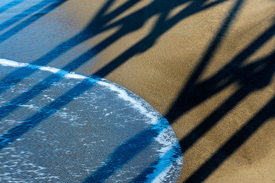 Surf, Sand & Pier Shadows
