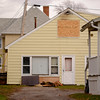 JOED VIERA/STAFF PHOTOGRAPHER-Newfane, NY-Smoke damage from a fire reported early Tuesday morning on 2747 West Ave appears above a a boarded up window.