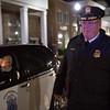 JOED VIERA/STAFF PHOTOGRAPHER-Lockport, NY-   Lockport Police Chief Mike Neithe walks in the Light Up Lockport Parade.