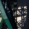 Shadows of Tyne bridge