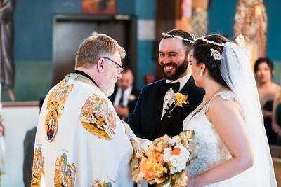 Wedding Ceremony smiles