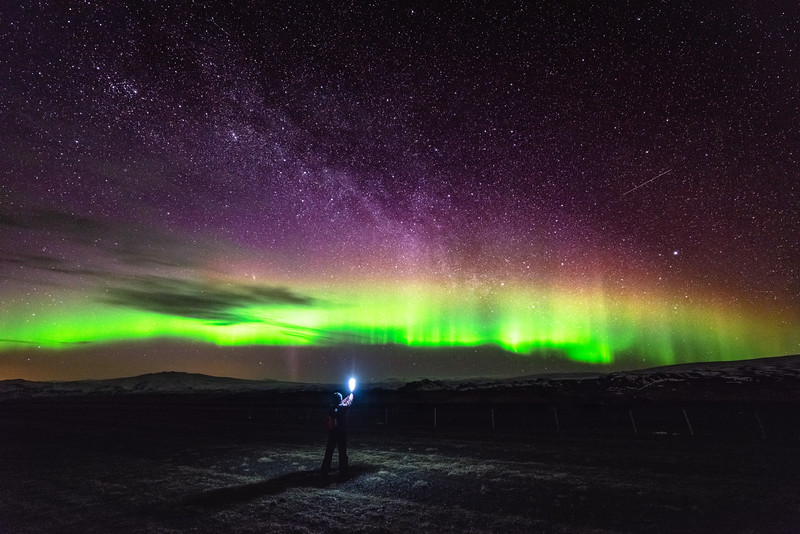 Aurora Among the Stars