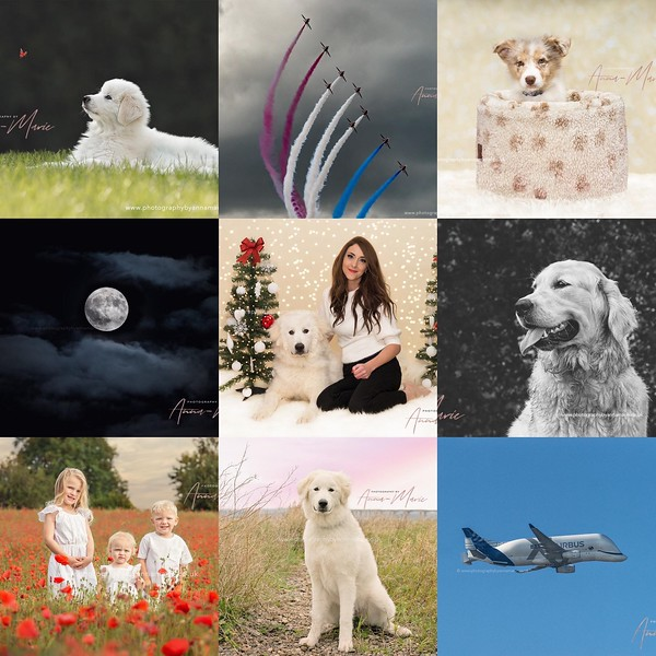 Instagram Best Nine - Photography By Anna-Marie Bristol