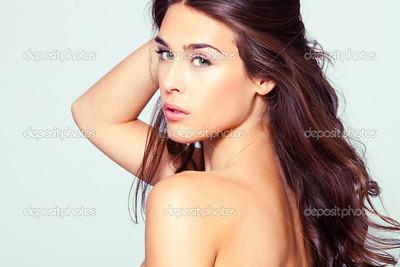 natural beauty woman portrait