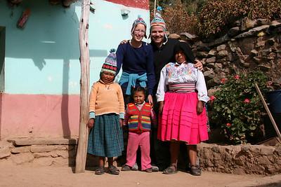 Our stay in Amantaní, Lago Titicaca, Peru