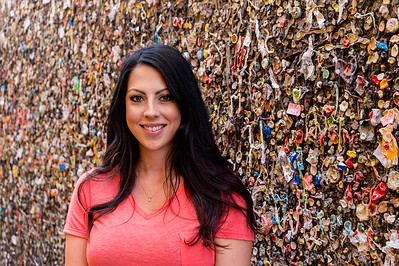 Kim at Bubblegum Alley #1