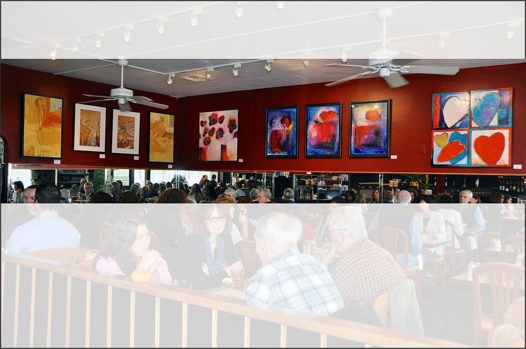 Exhibition at Mike's Café