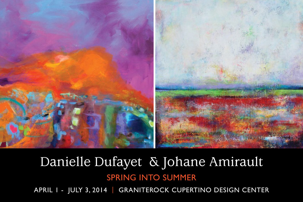 Spring into Summer Exhibition - Artists' Reception; Saturday May 3rd, 3 to 5 pm