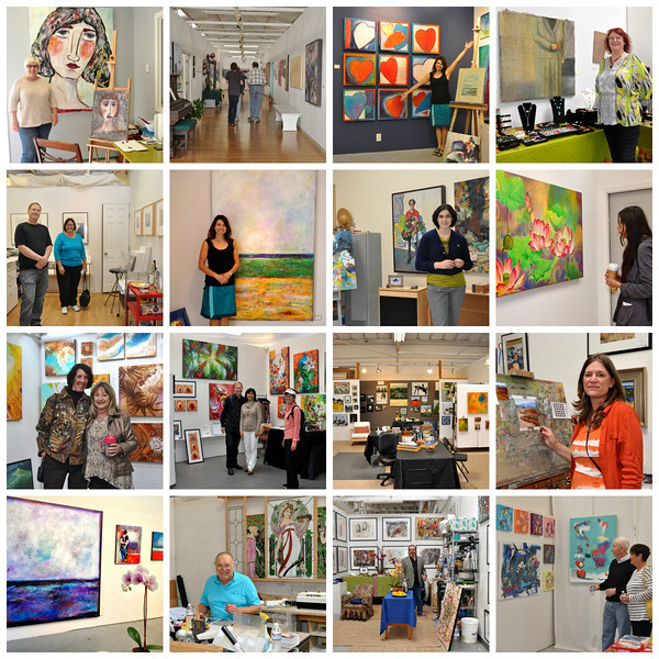 The Alameda Art Works Fall 2013 Open Studio to Benefit Sacred Heart Community Services