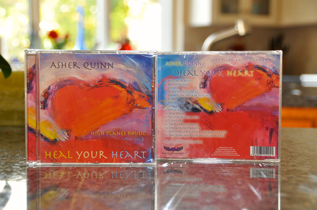 My Art on a Music CD Cover!!