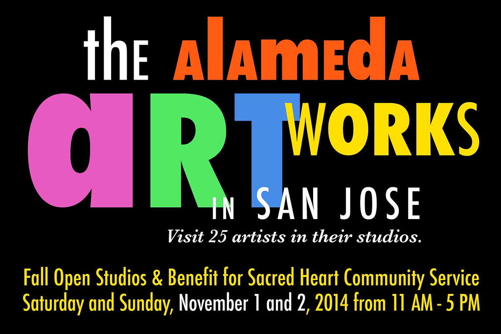 FALL OPEN STUDIOS & BENEFIT FOR SACRED HEART COMMUNITY SERVICES - November 1 and 2, 2014