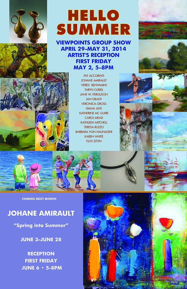 May and June, 2014 - Viewpoints Gallery Exhibitions