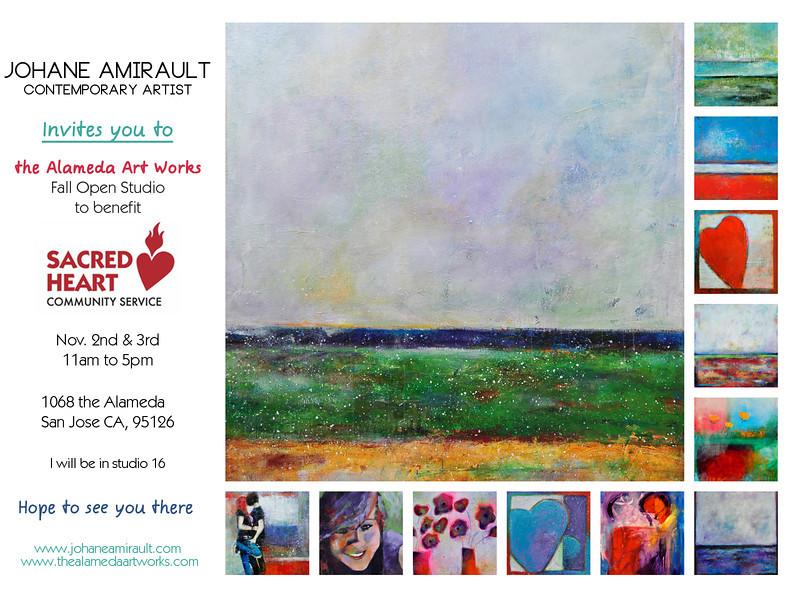 Invitation to the Fall 2013 Open Studio