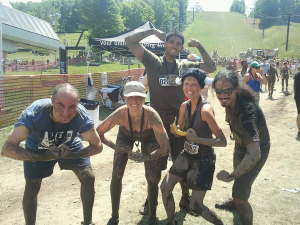"In July 2011 veterinarian Erika Sullivan and her all-vegan team tackled Ontario's infamous <a href=""http://warriordash.com/register2011_ontario.php"">Warrior Dash</a>, running and crawling through mud, under tunnels, over walls, up rope climbs, down a waterslide, through tires, over wrecked cars, flames and through barbed wire. The things some people will do for bananas and beer..."