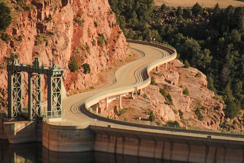 On the road in Utah.