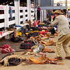 Rodeo scenes, Pendleton, OR, during the world famous Pendleton Round-up rodeo  (no model release)
