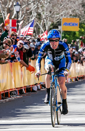 Levi Leipheimer wins stage 5 Amgen 07 time trial in Solvang with time of 29:40.441.