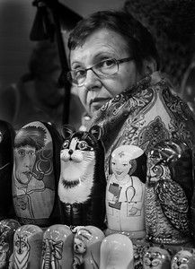 Russian Doll Vendor