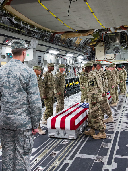 Dignified Transfer of Fallen BMTF Advisors