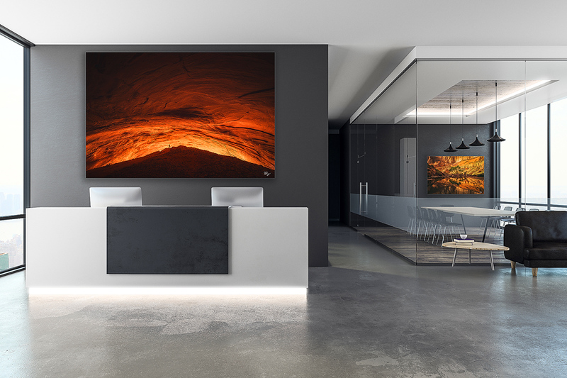 Contemporary reception with copy space