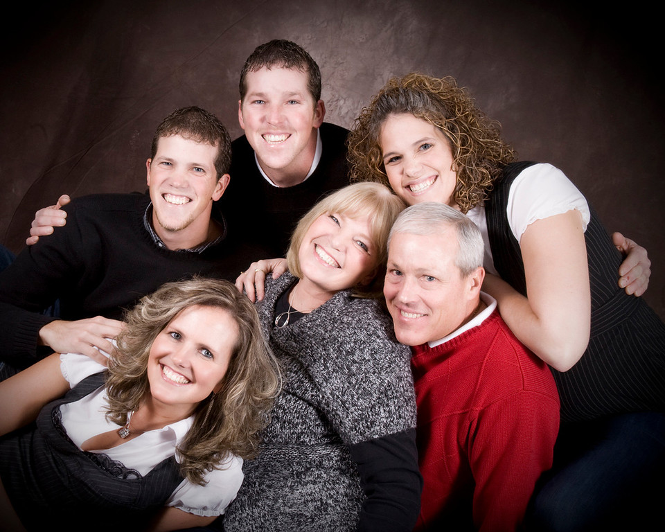 """<h1 class=""""notopmargin""""> <br><u>Single Family</u> </h1> <br><br><h4> <i>Having a place to go is home, having someone to love is a family, having both is a blessing. ~ Donna Hedges</i> <br><br>Studio or Wooded Property Session Fee is $95* <br><br>Client Location Session Fee is $95 plus travel fee.</h4> <br>Up to Six Total; Pets are welcome and each counts as one. <br>Additional Children - $10* Each <br>Additional Outfit - $25* Each <br><br><i>* plus sales tax and travel fees applies for client locations.</i> <br><br>All family sessions includes a DVD slideshow set to music of all images and online gallery for viewing and convenient print and download ordering. <br><br><i>Purchasing your Prints and Images w/Print Release:</i><br> (1) Online ordering system includes prints in a wide range of sizes and finishes and digital download for individual images at $40* per image.<br>(2) Entire Gallery Digital Download, excluding composite designs, available through the studio for $300*"""