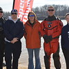 Members and volunteers with the Effingham County Dive and Rescue were on hand at the Polar Plunge. Shown from left to right are: Jeremy Kyle, Chad Berg, Michelle Wilkins, Nick Goldstein and Abby Kyle.