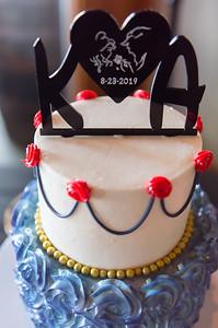 Wedding Cake at Christies of Genesee