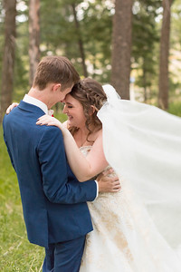 Bride and Groom Portrait at Christies of Genessee
