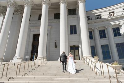 Downtown Denver Courthouse Elopement