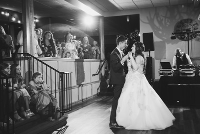 First Dance at Christies of Genesee Wedding