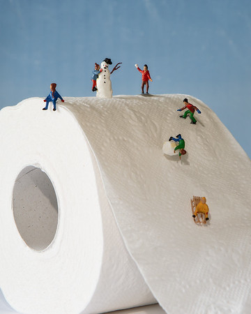 Miniatures on the slope