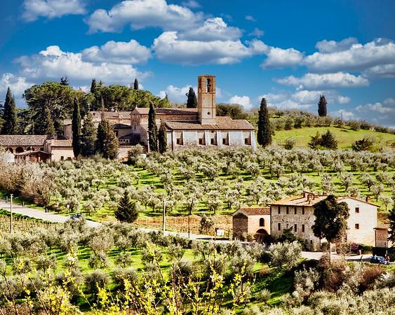 Siena in the Spring