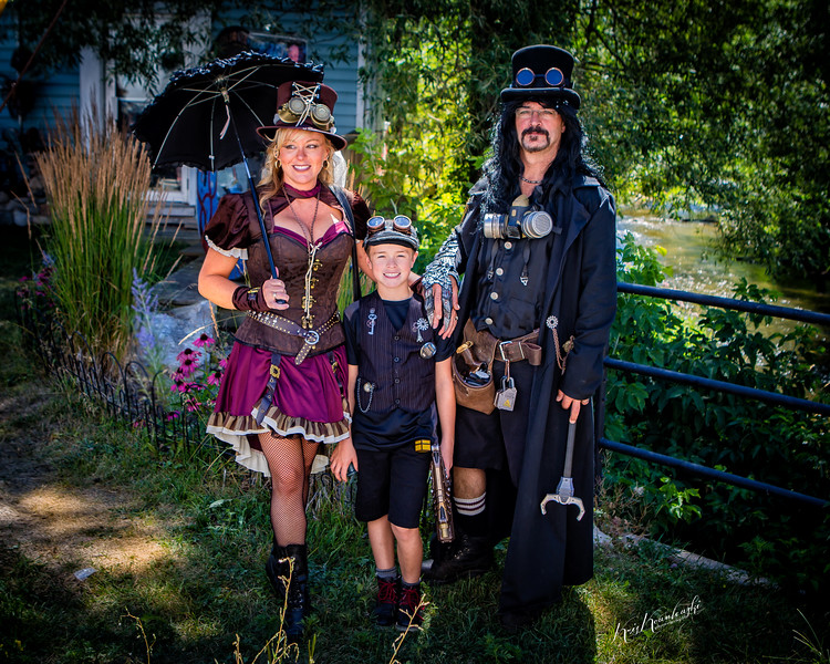 Steampunk Family