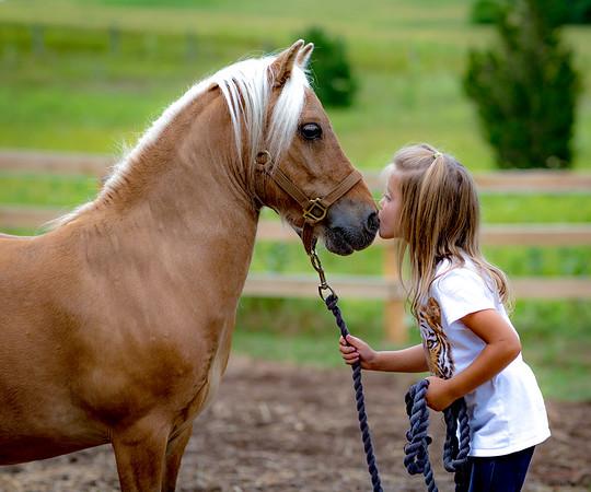 Horsey Kisses
