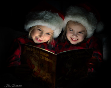 Twas the night before Christmas.....