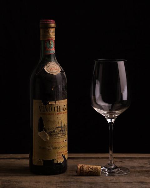 Vintage Chianti Wine