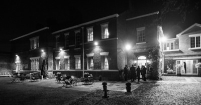 A Night shot of Singleton Lodge, taken on a calm but cold December evening.  http://www.singletonlodge.co.uk