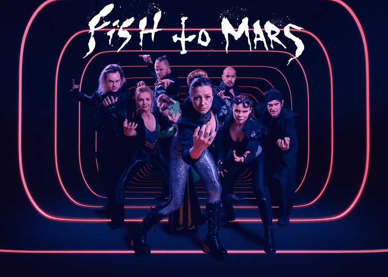 Fish to Mars - metal science opera