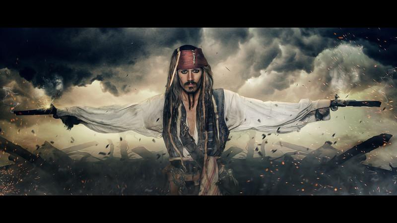 Simon Newton: Jack Sparrow Lookalike
