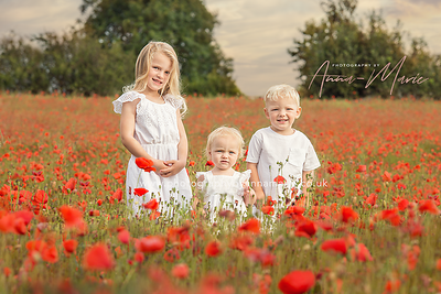 Flower Field Photo Shoot - South Gloucestershire