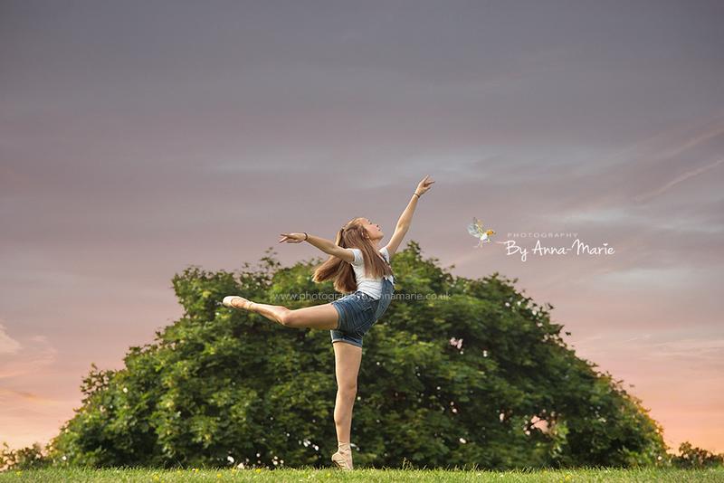 Ballerina Portrait Yate