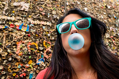 Kim at Bubblegum Alley #2