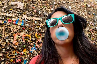 Kim at Bubblegum Alley #2